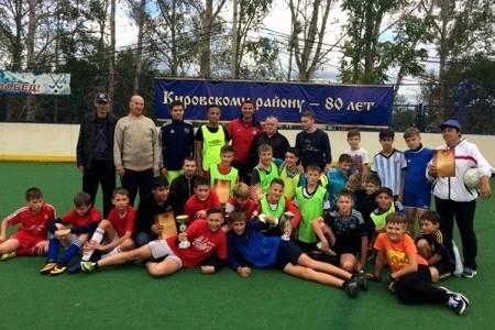 Традиционные юношеские соревнования по мини-футболу «Осенний тайм» состоялись на площадке культурно-спортивного комплекса «Арсеналец»