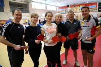 Мужская команда Законодательной Думы края завоевала второе место в соревнованиях по настольному теннису