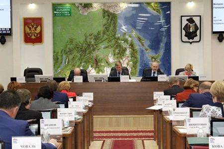10 региональных законов приняли депутаты Законодательной Думы Хабаровского края на декабрьских очередном и внеочередном заседаниях