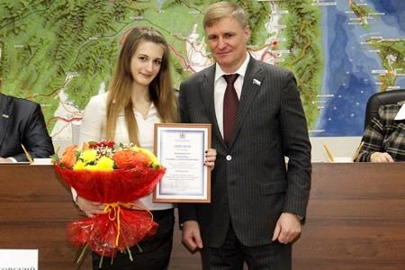 Призеры смотра-конкурса законопроектов и научных работ «Идеи молодых – Хабаровскому краю!» получили награды